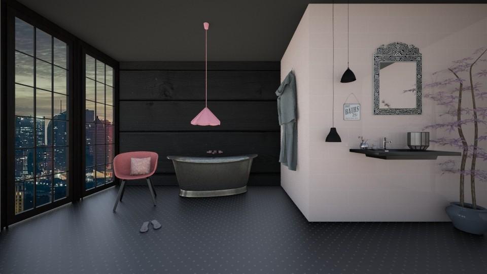 Magnolia Bathroom - Bathroom  - by adeldesign
