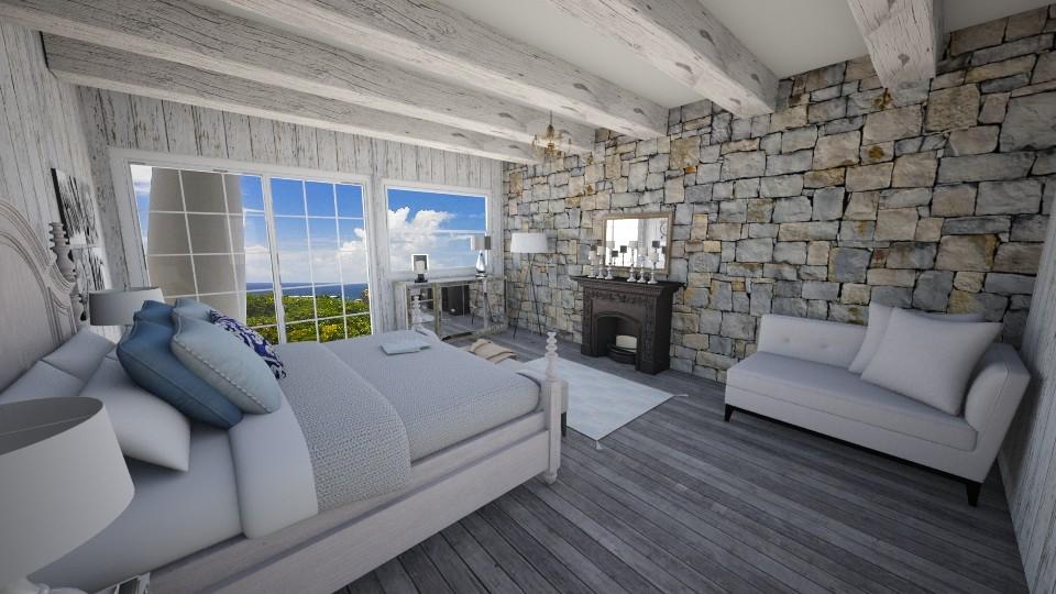 Beach room - Bedroom  - by laurencowper