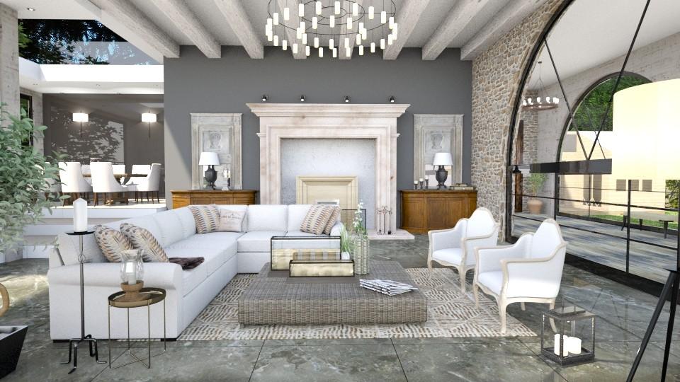 Mas - Living room  - by Artichoses
