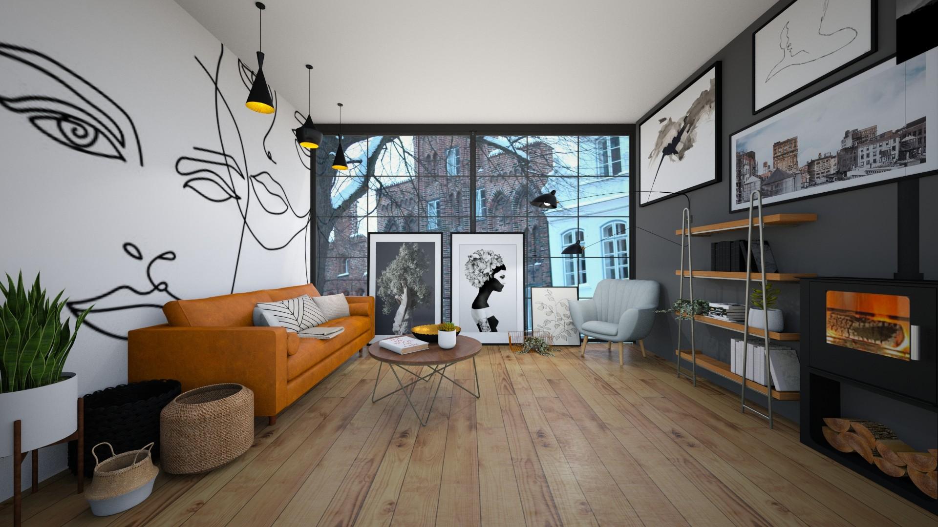 scandi living - Minimal - Living room  - by Happyspaniel