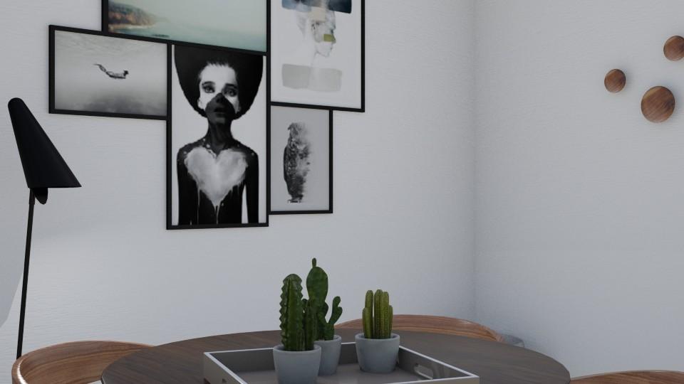Grey modern dining room - Modern - Dining room - by Basilikum
