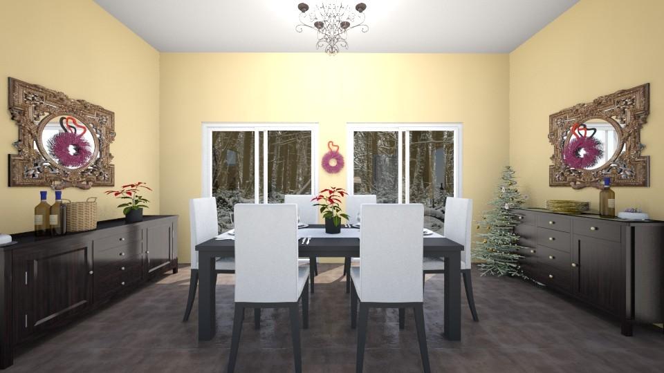 Aunt Renee living room - Living room - by talialodaya