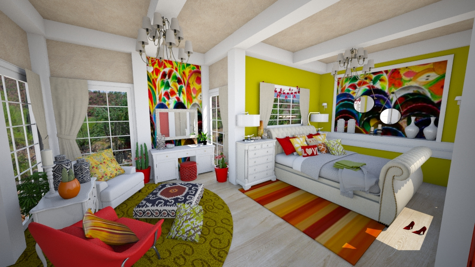 Young Mexican - Feminine - Bedroom - by yarah