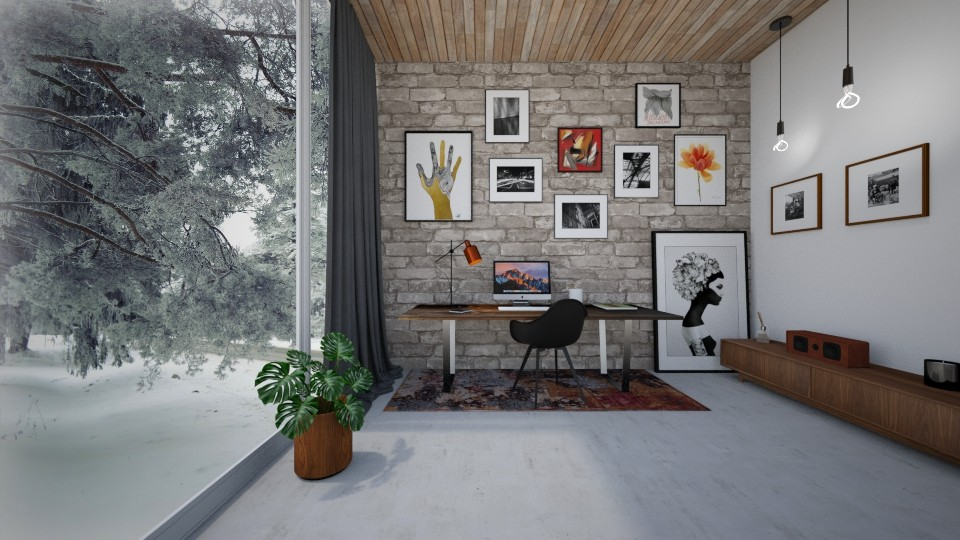 Modern Home Office - by Bastin