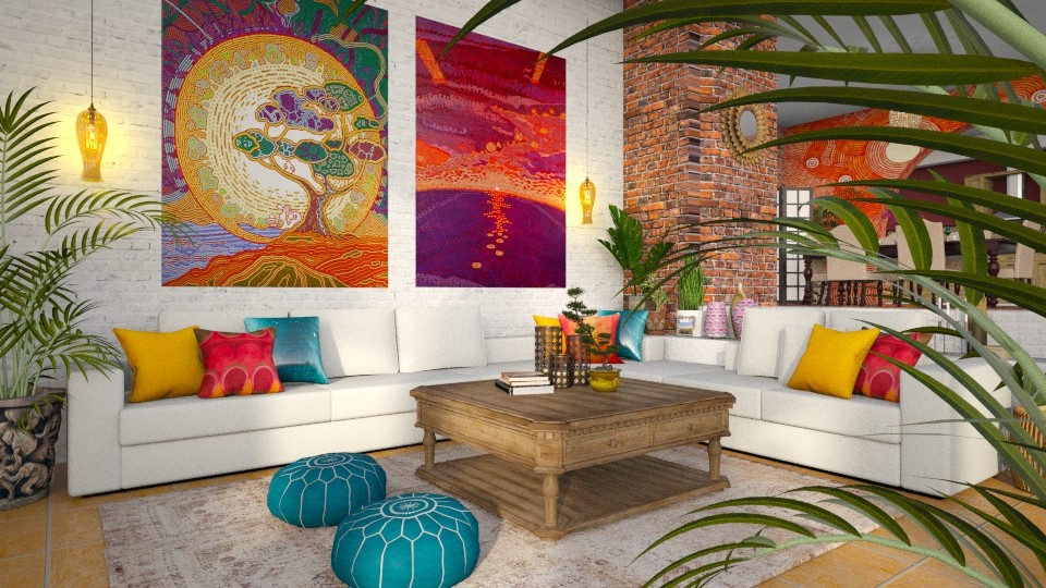 Fumihiro Kato - Living room - by smunro7