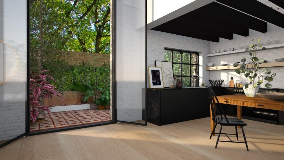 kitchen - by annamarina