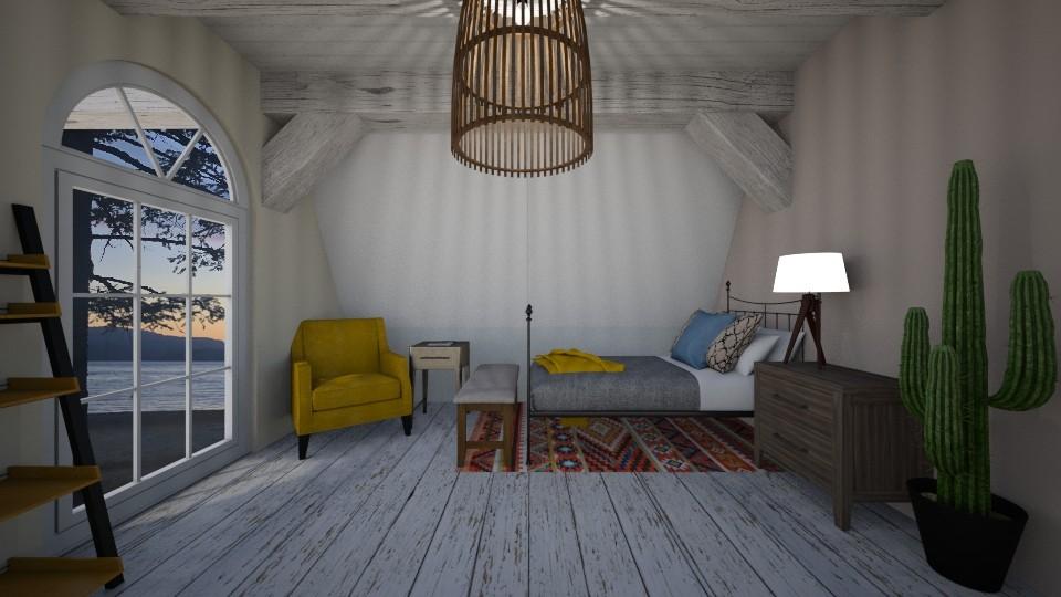 cozy attic - by gretchen2005