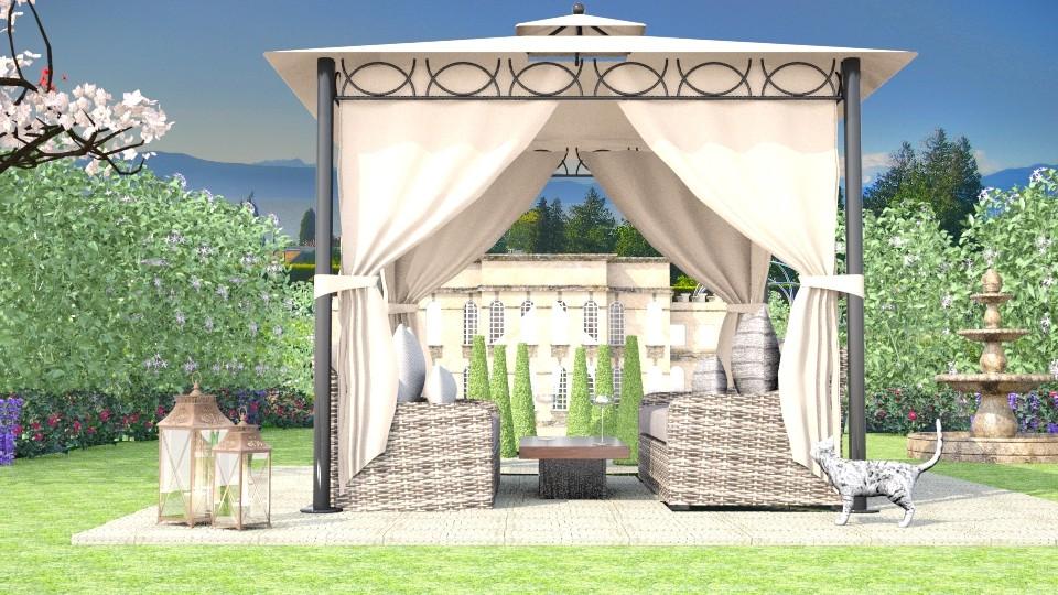 Luxury Garden - by molliesmith475