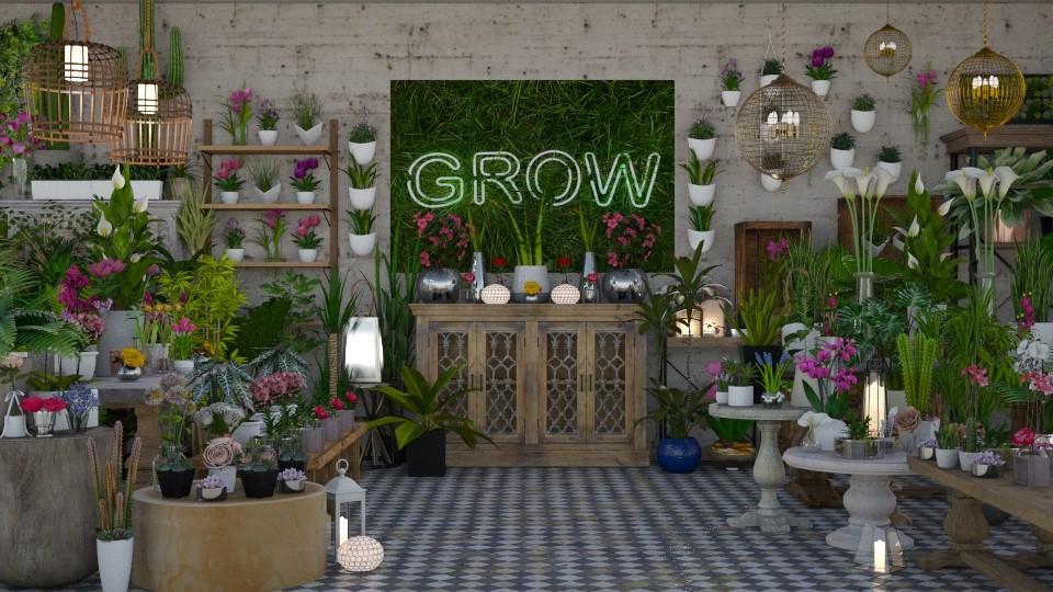 plant shop - by minervinoi