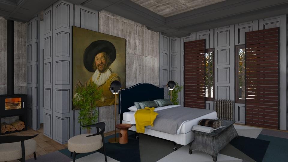 bedroom9 - Vintage - Bedroom - by marmart8