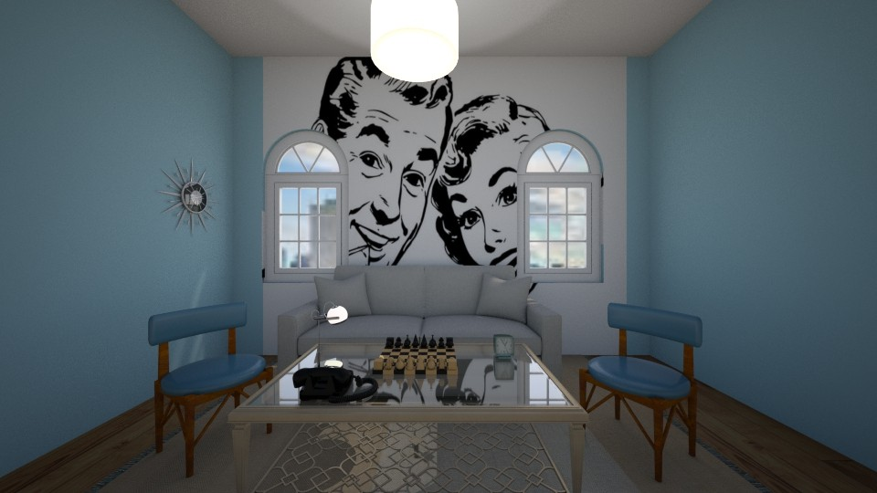 The Retro room - Living room - by New York Mets