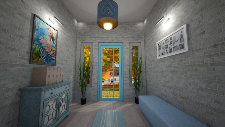 Hallway - Living room  - by nonanymous_