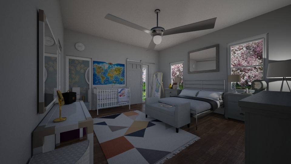 Simplicity - Bedroom - by neverlanddesigns