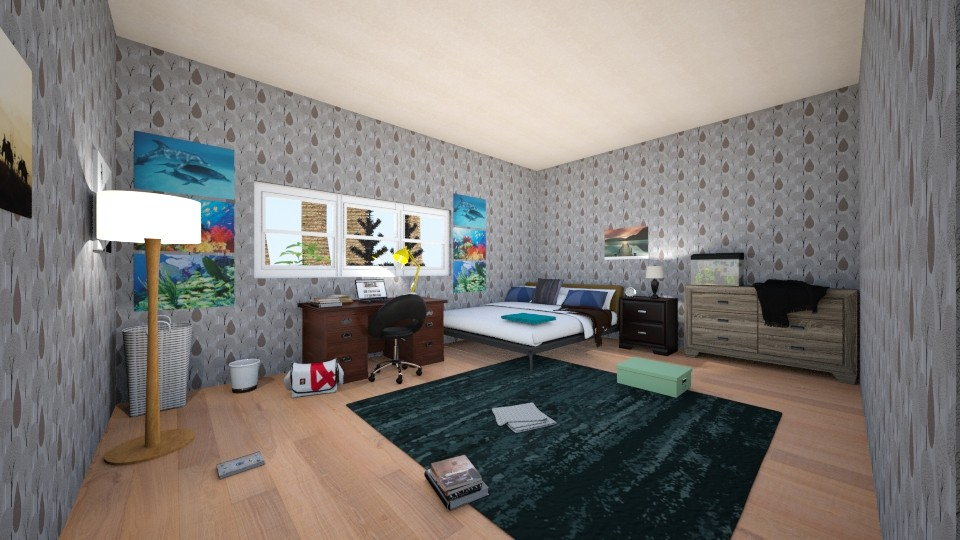Boys teenage bedroom - Bedroom - by scourgethekid