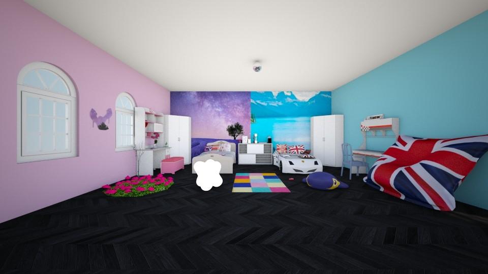 Disneyland - Kids room - by Deni star