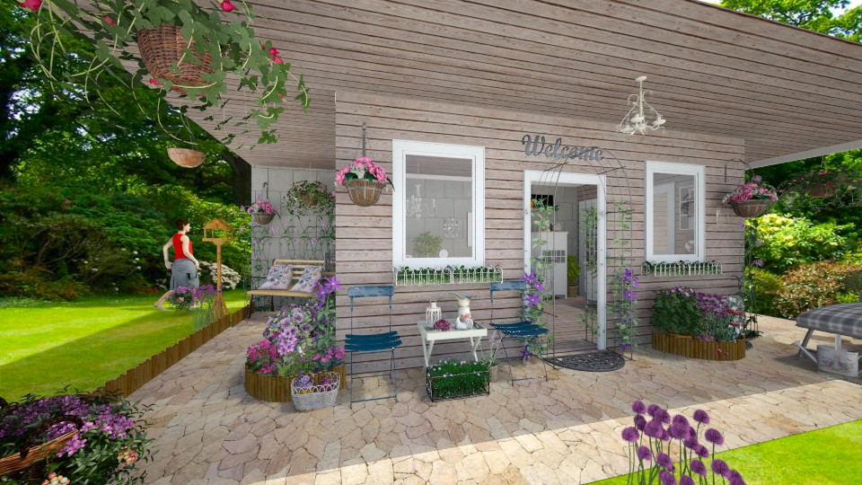 my tiny shabby chic shed - by yarah