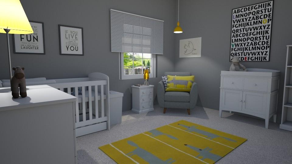 baby room - Kids room - by GraceRoomstyler