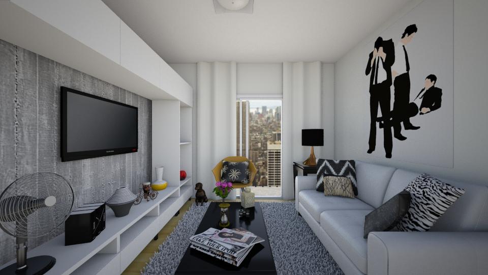 ap pequeno sala - Living room  - by Tainaraa