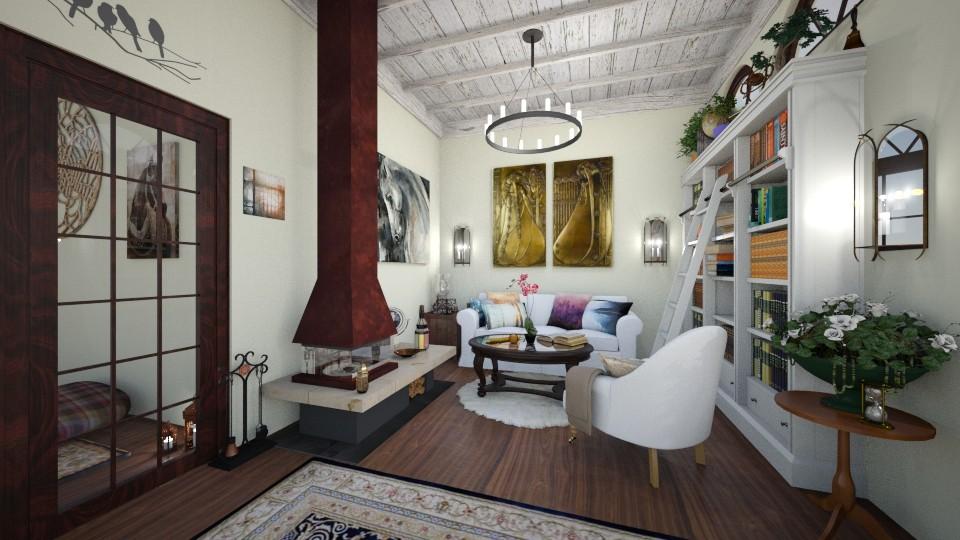 Rustic Living - Living room - by RunawayAngel