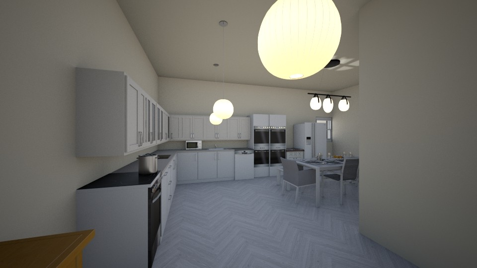 my home - Classic - Kitchen  - by RollPinkEra