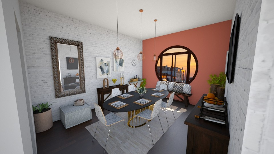 Dining wt Style - Dining room - by niidurose