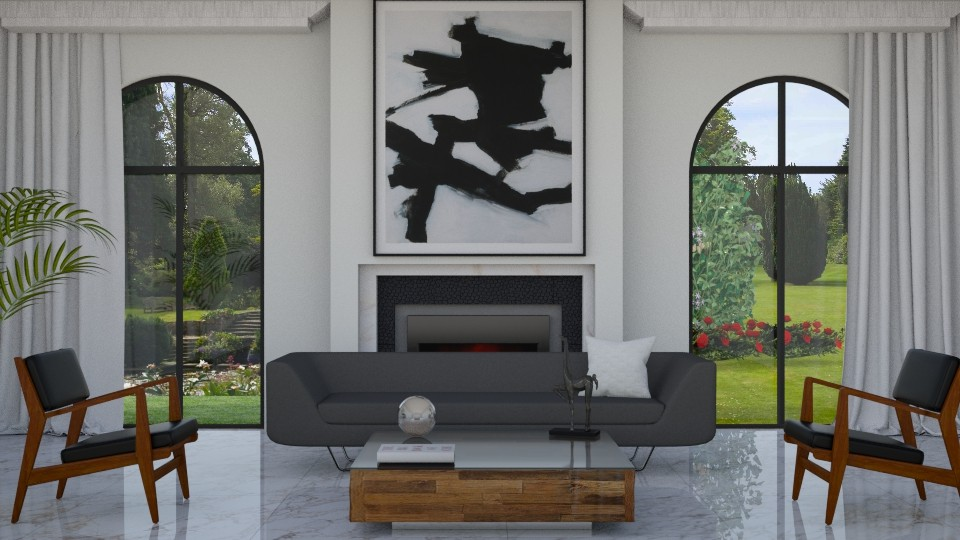 Garden Vu - Living room - by yonvie