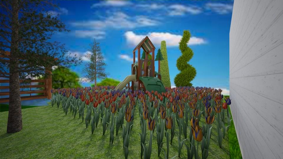 Cute qaurntine yard - Classic - Garden - by unicornlovescupcakes101