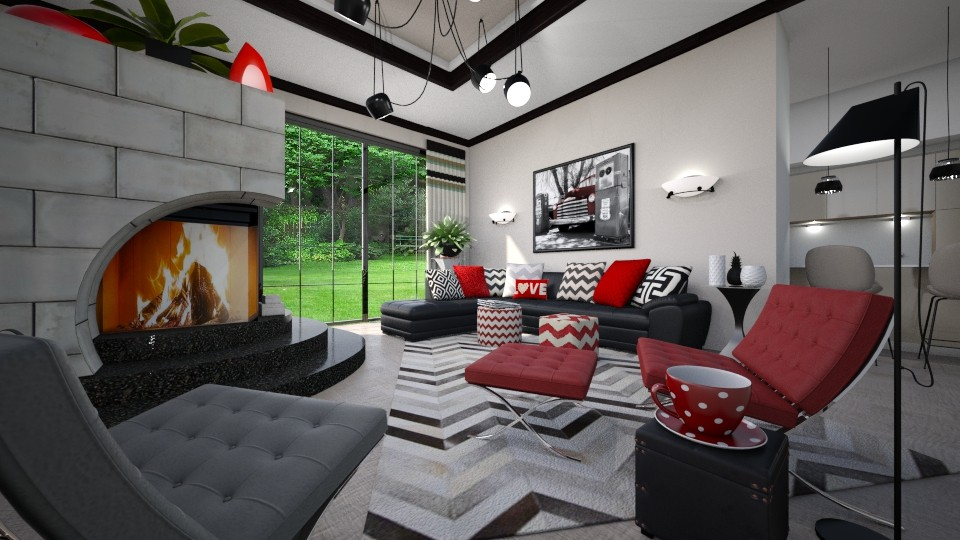 Bold Living - Living room  - by Lackew