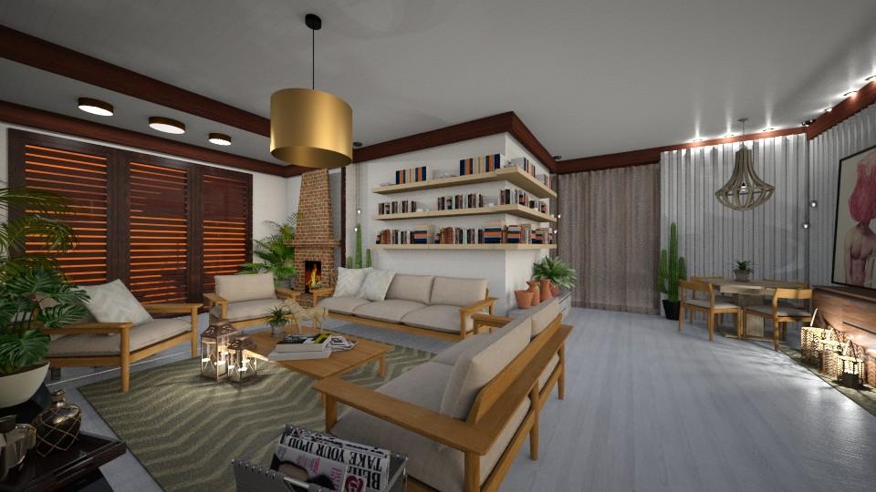 sala nova - Living room - by yyyyy