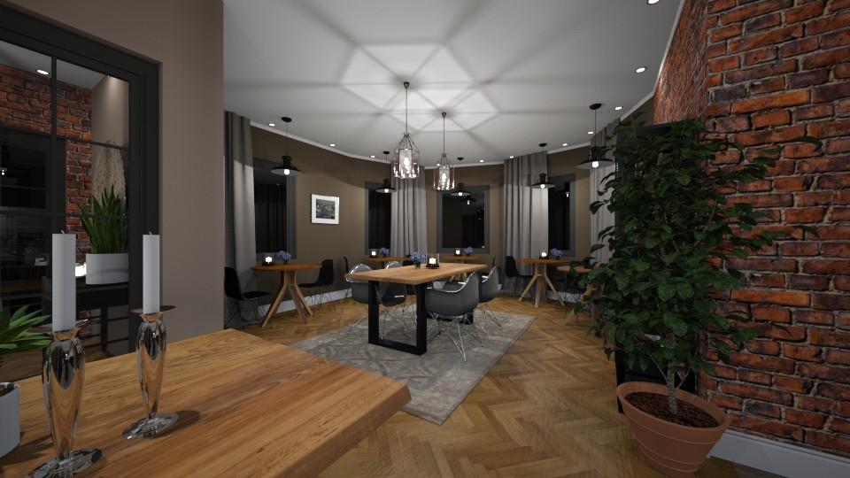 Bistro Novo  - Rustic - Kitchen - by GIANNI VANCOMPERNOLLE