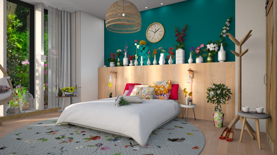 colorful dream - Bedroom - by Gwenda van Maaren