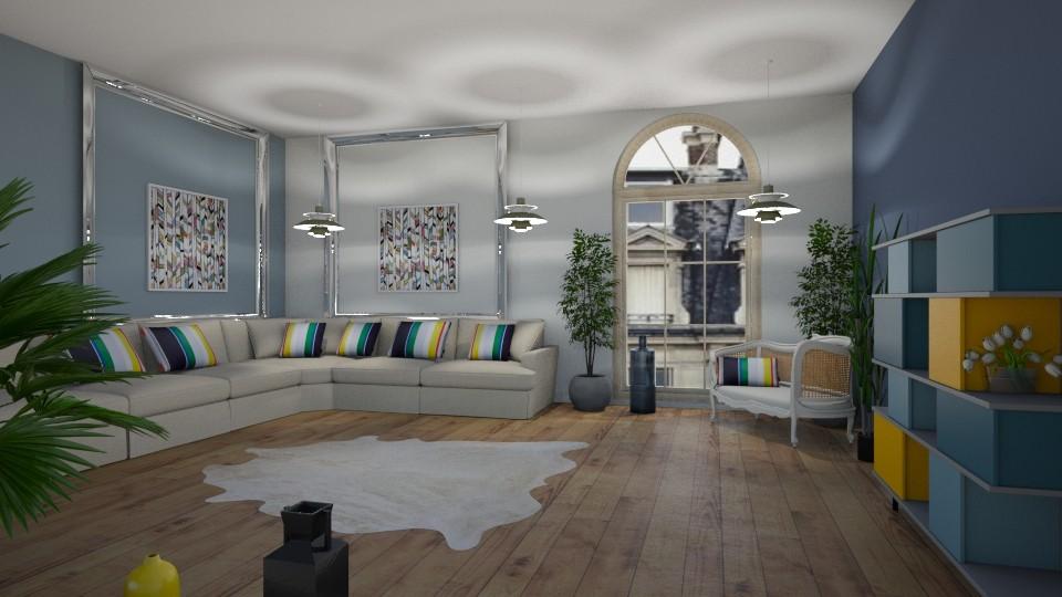 Room 13 - Living room - by Tiffany Y