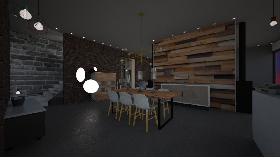 ECO18 REZ Dining room - by Shuu Dark
