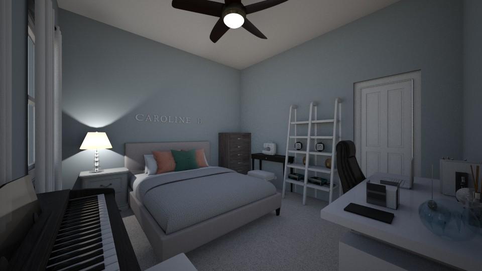 My Bedroom - Bedroom - by cbruno23