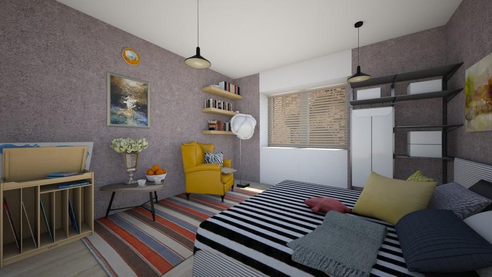 My room - Living room - by Polya_Nikols