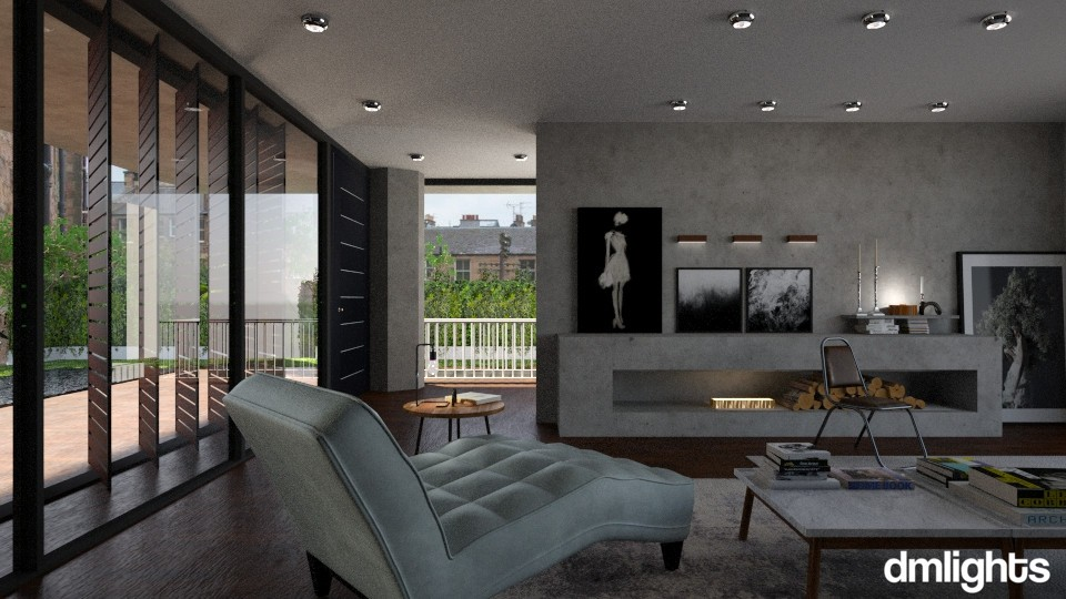 Stone - Living room - by DMLights-user-991288