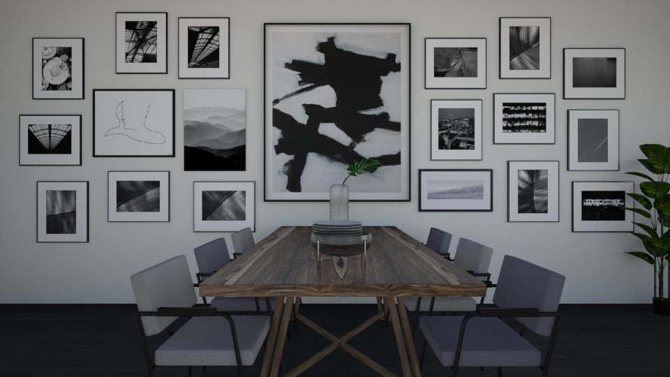 PICTURE DINNER - Dining room - by elisavz_