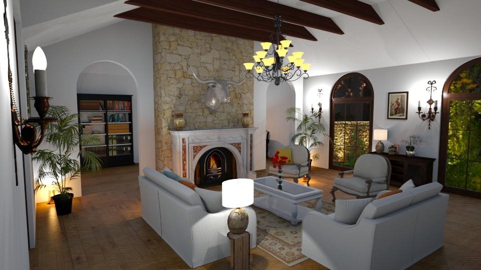 Santa Barbara - Living room  - by euodia