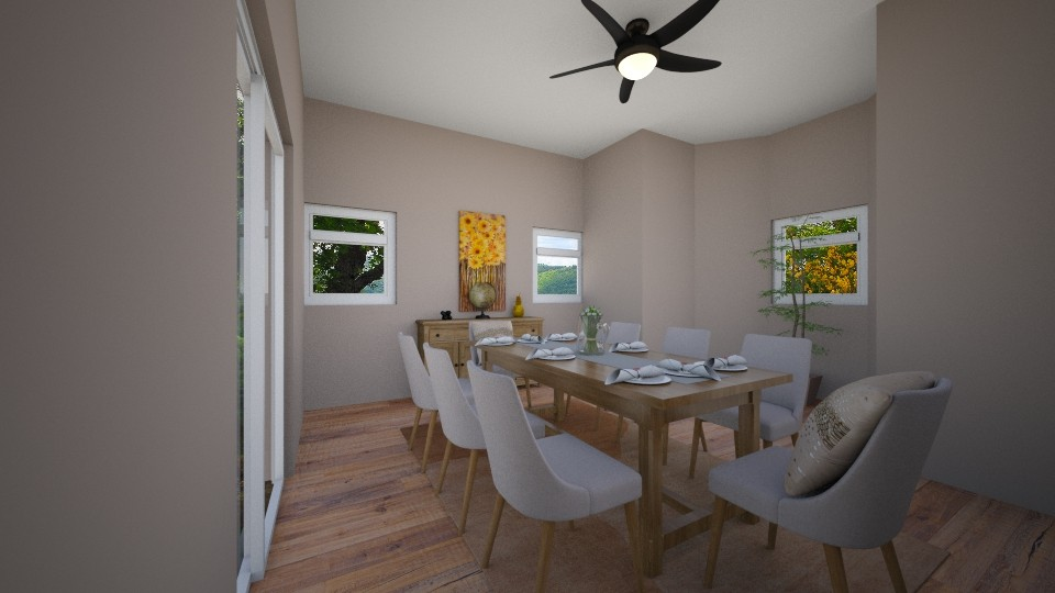 Rustic Dining  - Dining room - by RAF2024