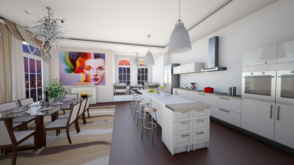 kitchen  - Kitchen - by Sophia Urcuyo