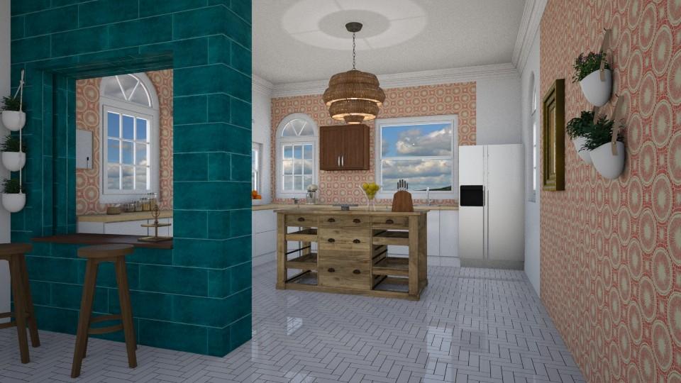OPEN KITCHEN - Kitchen - by Jadee_