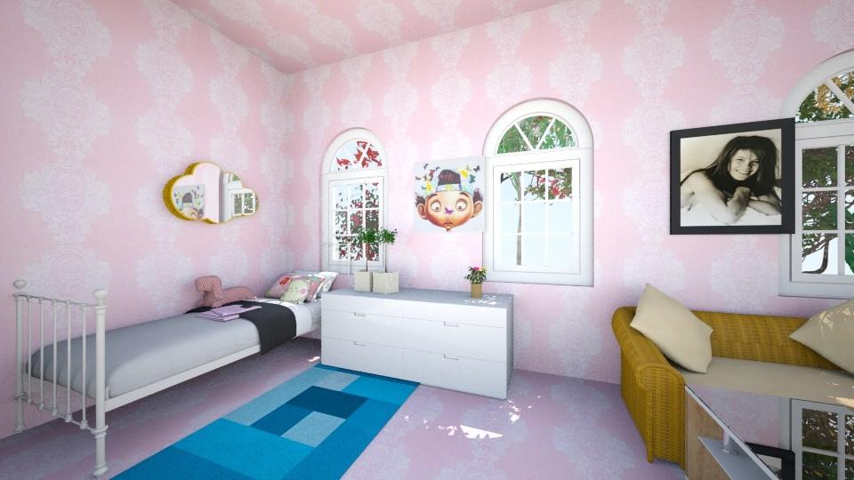 mini mini - Kids room - by Nati Lovi