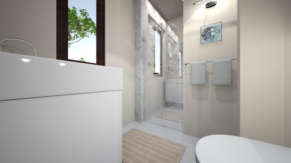 bath - Modern - Bathroom - by Bianca Interior Design