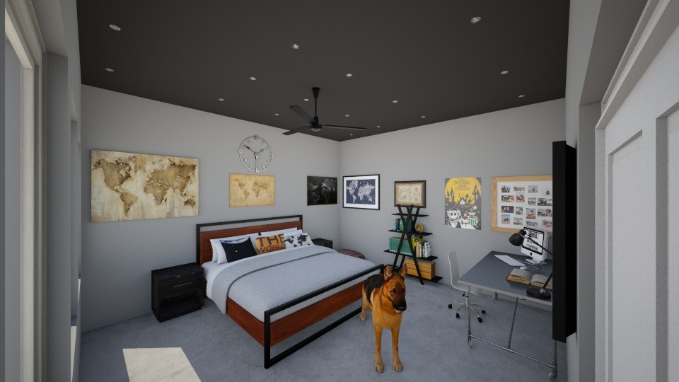 Xavier - Modern - Bedroom - by hannahcatherine