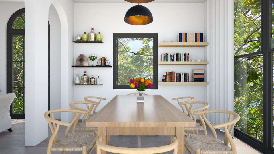 Dining  - Dining room - by klmmorales