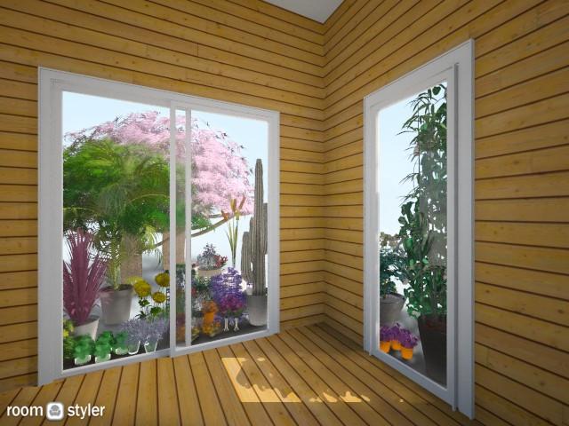 nature doors - Modern - Garden - by zahrasav
