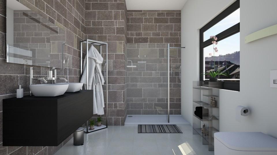 DKJS - Bathroom - by elisavz_