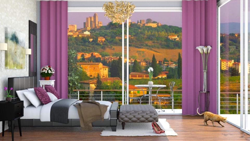 Quarto Belo - Bedroom - by Alecio