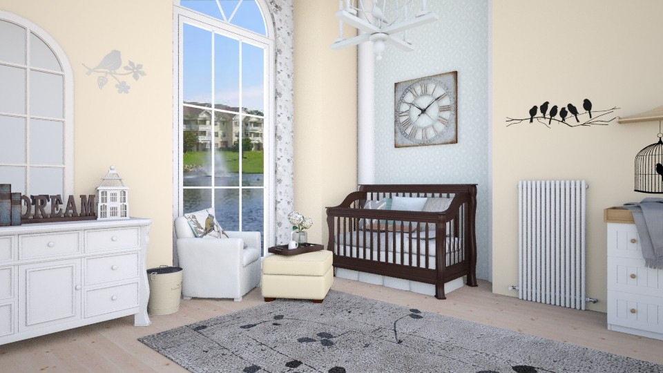 Babies blessing - Country - Bedroom - by megalia42