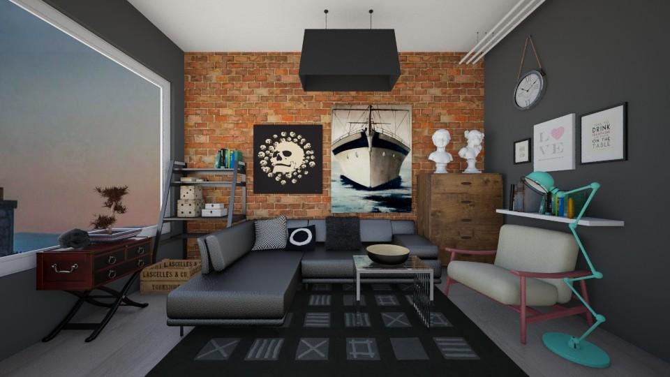 T1 - Modern - Living room - by Karim Mahfouz